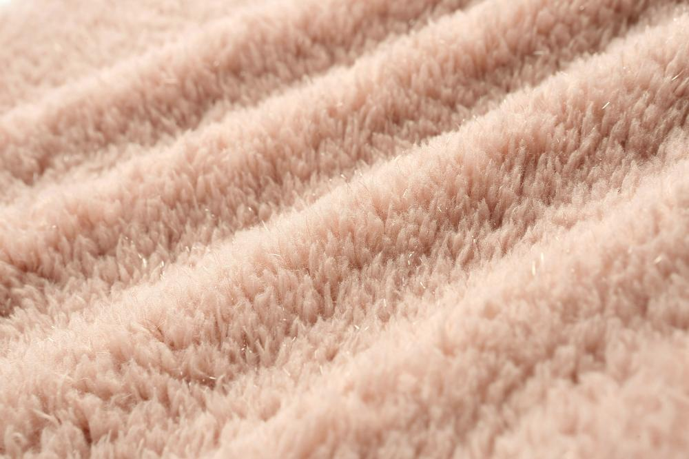soft coral fleece with luxury