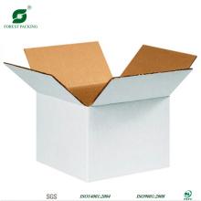 Caixas de cartão brancas por atacado da cópia feita sob encomenda