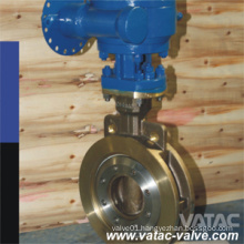 Pneumatic Operated Class150lbs/Class300lbs Wafer Butterfly Valve
