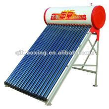 intergrate tube à vide pressurisé chauffe-eau solaire