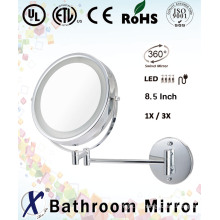 8,5 pulgadas moda pared espejada espejo del arte de la pared (D8522)