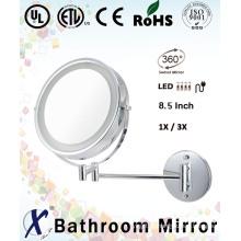 Parede de moda 8,5 polegadas espelhado parede arte espelho (D8522)