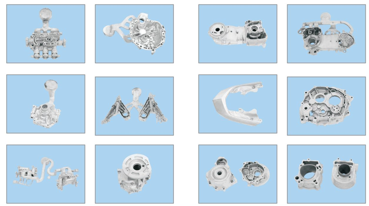 Aluminum Die Casting Outboard Equiment Parts