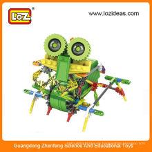 Mini grüne Modell Bausteine Sets DIY Spielzeug pädagogischen Spielzeug