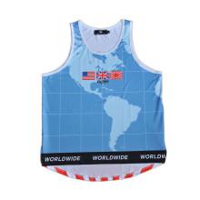 Maillot de course de football 100% polyester en jersey de basketball sport (TT5008)