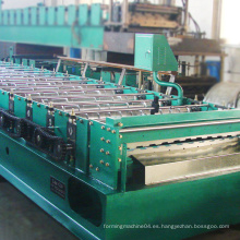 Alto rendimiento personalizar longitud material de construcción máquina de hoja de techo