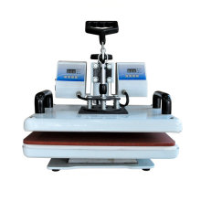 Flatbed manufacturer combo sublimation heat press machine for t shirt
