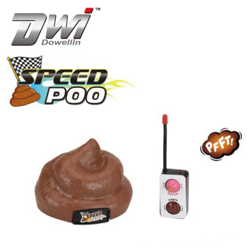 Dwi Dowellin Poo Game Remote Controlled Vehicle Fart Machine Poop Party Toys for Kids Outdoor Indoors Novelty Games