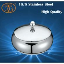 18/8 Stainless Steel 5oz. Sugar Pot With Cover