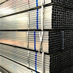 ASME 100x100 mm Galvanized Square Steel Pipe