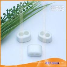 Forme el extremo plástico de la cuerda para las prendas KE1065 #