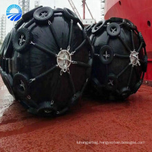 Marine Rubber Pneumatic Rubber Fender For Berthing Ship Protection