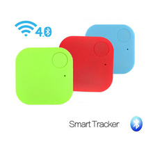 Mini puce sans fil Bluetooth 4.0 anti-perte alarme clé Tracker