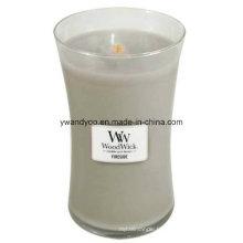 Bougies d'art parfumées romantiques comme cadeau