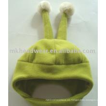 Sombrero polar del bebé con cuernos
