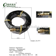 Promotional prices Brass coupler pvc flexible hose