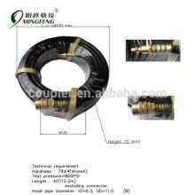 Preços promocionais Bronze coupler pvc mangueira flexível