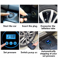 Tire Inflator 150 PSI 12V DC Portable Auto Electric Digital Air Compressor Pump for Car, Truck, Bicycle, RV and Other Vehicle In