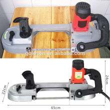 680w Vitesse Variable Métal / Acier / Bois Découpe Electric Power Handheld Mini Metal Band Saw Machine