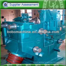 Helical blade rolling mill