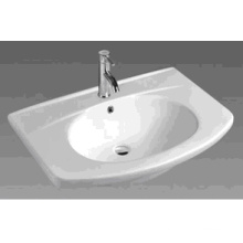 Ceramic Rectangular Cabinet Basin (A81)
