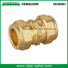 Brass Straight Coupling with Compression End (AV7001)