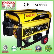 2.3kw pequeños generadores eléctricos de potencia de gasolina eléctrica (em2500c)