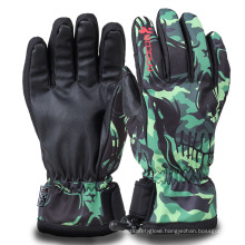 Expressive Printed Winter Waterproof Warm Adult Ski Gloves