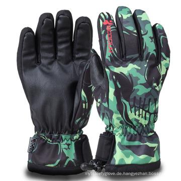 Expressive Printed Winter wasserdichte warme Erwachsene Ski Handschuhe