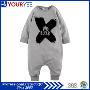 OEM personnalisé 100% coton imprimé Printed Infant Baby Romper Factory (YBY113)