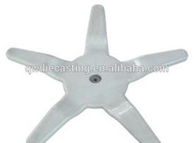 Aluminium Die Casting base support for Office Chair