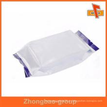 China vendedor laminado por atacado impresso lado gusset foil alinhado alimentos sacos