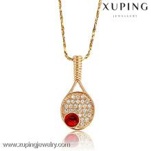 32075-Xuping No estoque ouro pingente de tênis jóias esportivas