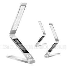 DC12V Foldable LED Table Lamp with 3-C Light Modes and LCD Calendar (LTB780)