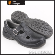 Low Cut Genuine Leather Summer Safety Sandal (SN5331)
