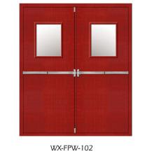 Vertrauenswürdige Brandschutztür (WX-FPW-102)