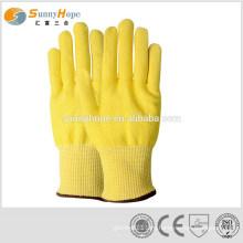 Модные золотые режущие перчатки HPPE для кухни