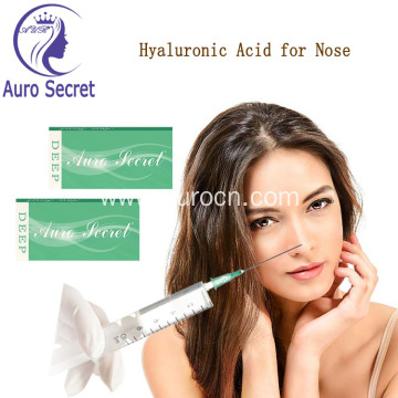 Fine Hyaluronic Acid Wrinkle Filler Injections
