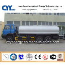 New Chemical LNG Liquide oxygène Nitrogen Carbon Dioxide Fuel Argon Tank Car Semi Semi-remorque