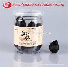 100% Чистая зеленая закуска и старение очищенного соло черного чеснока из Китая 200 г / флакон