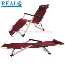 Oversize Free-Adjustment Heavy Duty Lounger Patio Chair