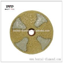 Almohadilla de fibra de diamante para suelo, como mármol, granito, hormigón