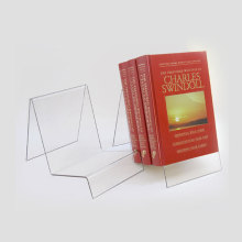 Cheap Plexiglass Booklet Holder/Brochure Holder