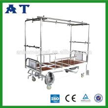 CE ISO aprobó el resto de cama ajustable ortopédico manual