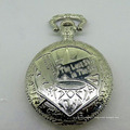 Crystal custom design quartz geneva japan movt quartz pocket watch