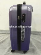 China supplier travel bag certificate abs luggage