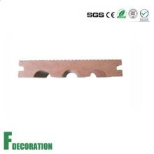 Plancher en bois composite en bois de Decking de piscine de 140 * de 23mm WPC