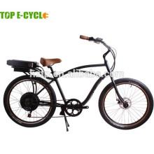 """Bicicleta eléctrica / bicicleta de crucero de playa de adultos de 500 W 48V de 26 """""""