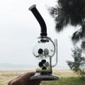 Panda Color Screw Novel Design Herbal Glass Water Pipes (ES-GB-251)