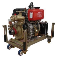 CWY on boat ship marine emergency fire pump